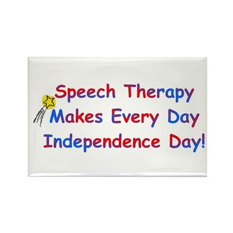 S.T. Independence Rectangle Magnet (100 pack)