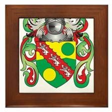 Emerson Coat of Arms Framed Tile
