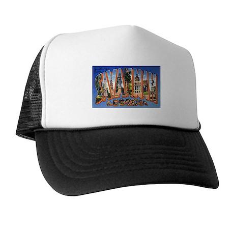 Savannah Georgia Greetings Trucker Hat