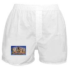 Savannah Georgia Greetings Boxer Shorts