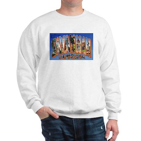 Savannah Georgia Greetings (Front) Sweatshirt