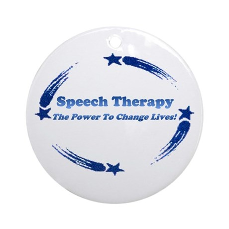 S.T. Change Lives Ornament (Round)