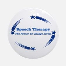 S.T. Change Lives Ornament (Round)