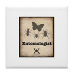 Entomologist Tile Coaster