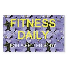 Fitness Daily Decal