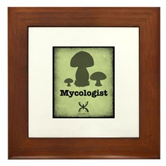 Mycologist Framed Tile