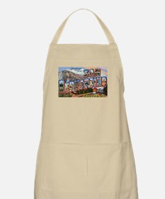 San Bernardino California Greetings BBQ Apron