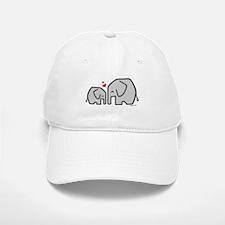 Elephants (4) Baseball Baseball Cap