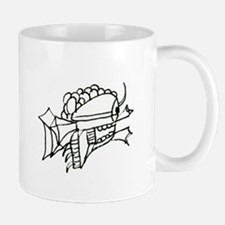 Just a Quirky Fish Drawing Mug