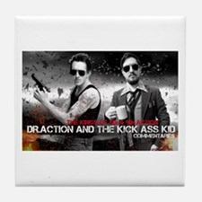 Doc and Kid Expendable Tile Coaster