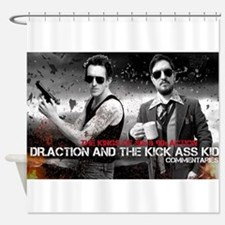 Doc and Kid Expendable Shower Curtain