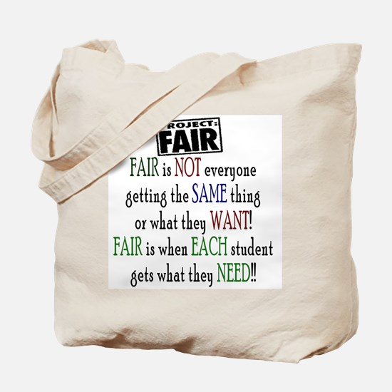 Fair Tote Bag