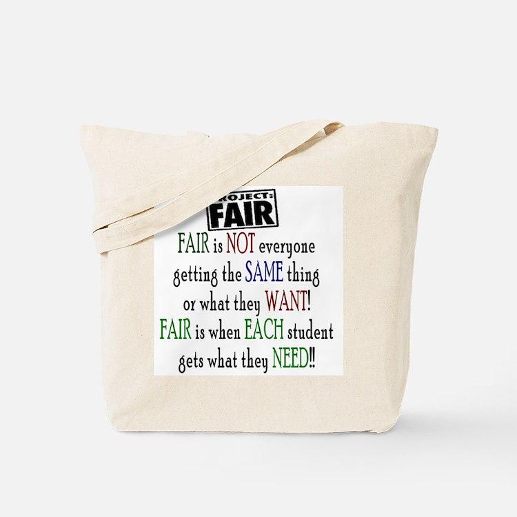 Fair Tote Bag