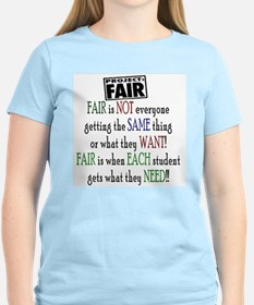 Fair Women's Pink T-Shirt