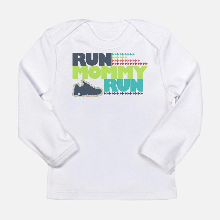 Run Mommy Run - Shoe - Long Sleeve T-Shirt