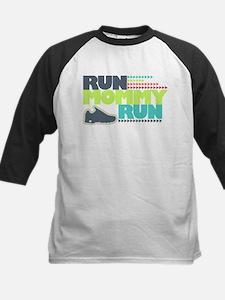 Run Mommy Run - Shoe - Kids Baseball Jersey
