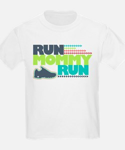 Run Mommy Run - Shoe - T-Shirt