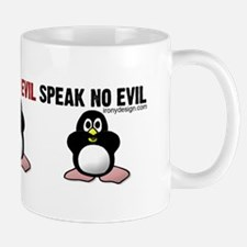 No Evil Penguins Mug