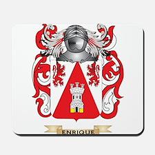 Enrique Coat of Arms Mousepad