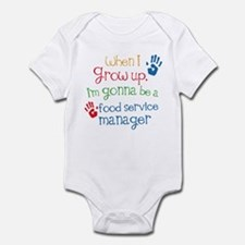 Future Food service manager Infant Bodysuit