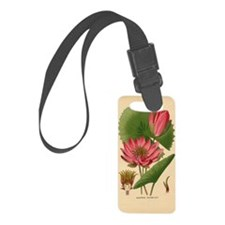 Egyptian Water Lily Luggage Tag