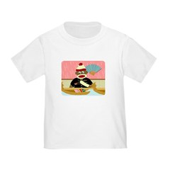 Sock Monkey Sushi Boat T