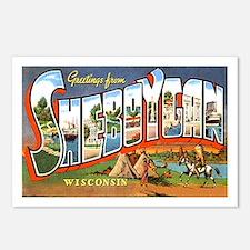 Sheboygan Wisconsin Greetings Postcards (Package o