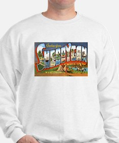 Sheboygan Wisconsin Greetings (Front) Sweatshirt