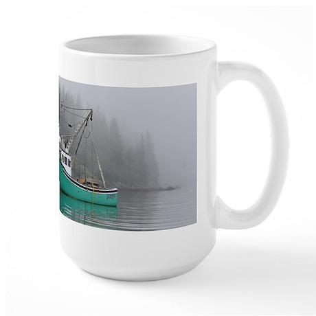 Lobster Boat Large Mug