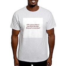 100 Feet Ash Grey T-Shirt