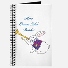 Here Comes The Bride Journal