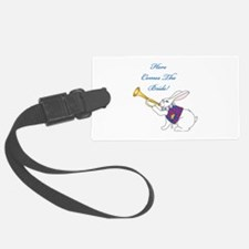 Here Comes The Bride Luggage Tag