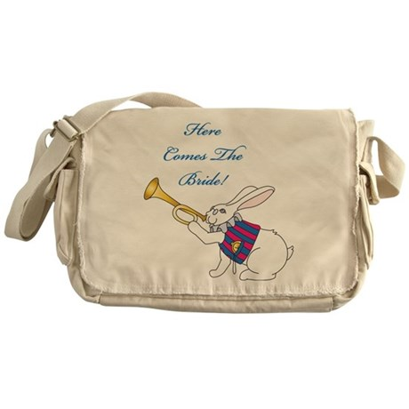 Here Comes The Bride Messenger Bag