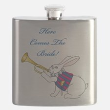 Here Comes The Bride Flask