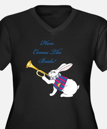 Here Comes The Bride Plus Size T-Shirt