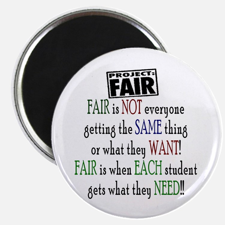 "Fair 2.25"" Magnet (100 pack)"