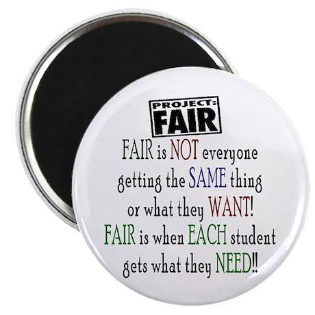 "Fair 2.25"" Magnet (10 pack)"
