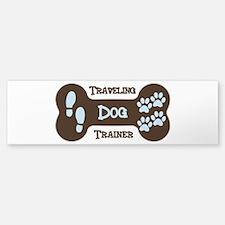 Funny Dog trainer Sticker (Bumper)