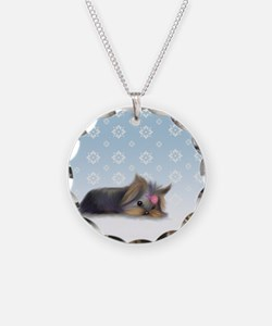 ByCatiaCho Yorkie L.Thinker Necklace