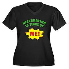 Celebrating Me! 13th Birthday Women's Plus Size V-