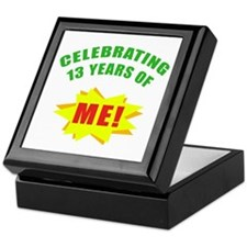 Celebrating Me! 13th Birthday Keepsake Box