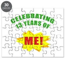 Celebrating Me! 13th Birthday Puzzle