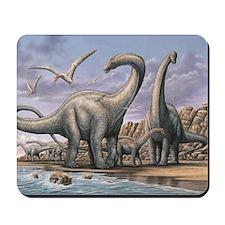 Apatosaurus Dinosaurs Mousepad