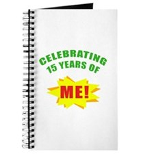 Celebrating Me! 15th Birthday Journal