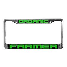 ORGANIC FARMER License Plate Frame