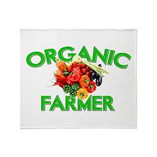 ORGANIC FARMER Throw Blanket
