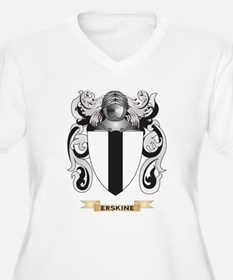 Erskine Coat of Arms Plus Size T-Shirt