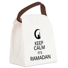 Cute Islam Canvas Lunch Bag