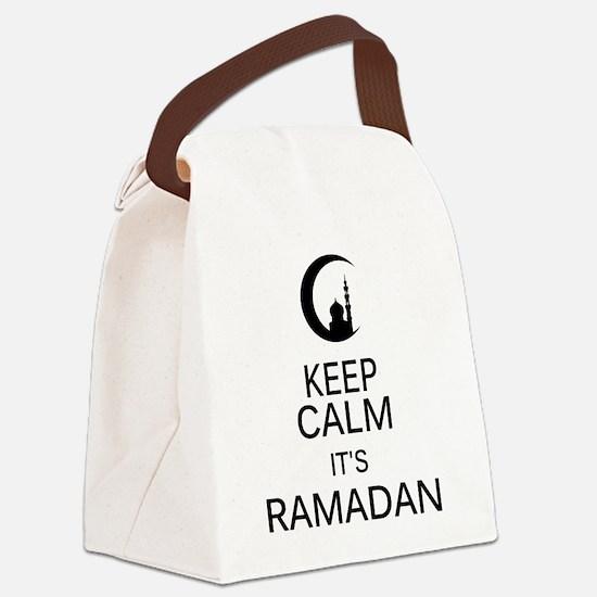Funny Ramadan Canvas Lunch Bag