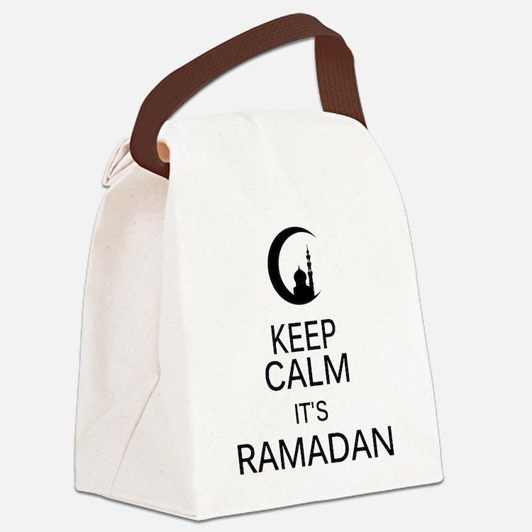 Cute Ramadan Canvas Lunch Bag